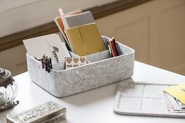 小物を整理できる収納ボックスの画像