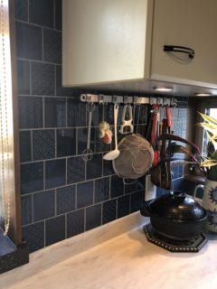 新しく生まれ変わったキッチンの画像